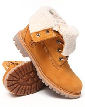 Buy Timberland Authentics Teddy Fleece Waterproof Fold down Boots Women's Footwear from Timberland. Find Timberland fashions & more at DrJays.com