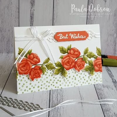 Stamp to Share blog hop featuring the Petal Palette bundle and a little no line colouring from me with Blends!  #pauladobson #stampinantics #stamptoshare #petalpalettebundle #nolinecoloring
