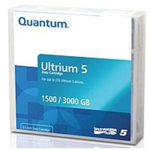 NOB Quantum LTO Ultrium 5 MR-L5LQN-BC 1.5 TB Data Cartridge with Barcode Labeled - 20-Pack