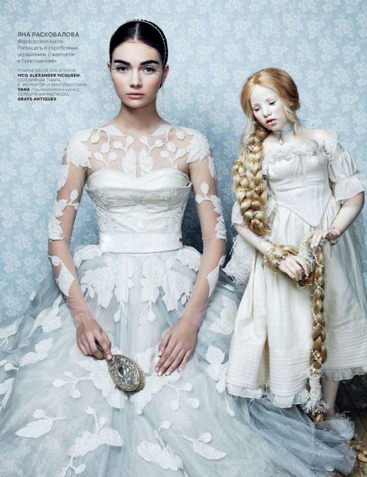 VOGUE Russia December 2012   Title : Toy Story  Photography : Danil Golovkin  Model : Antonina Vasylchenko