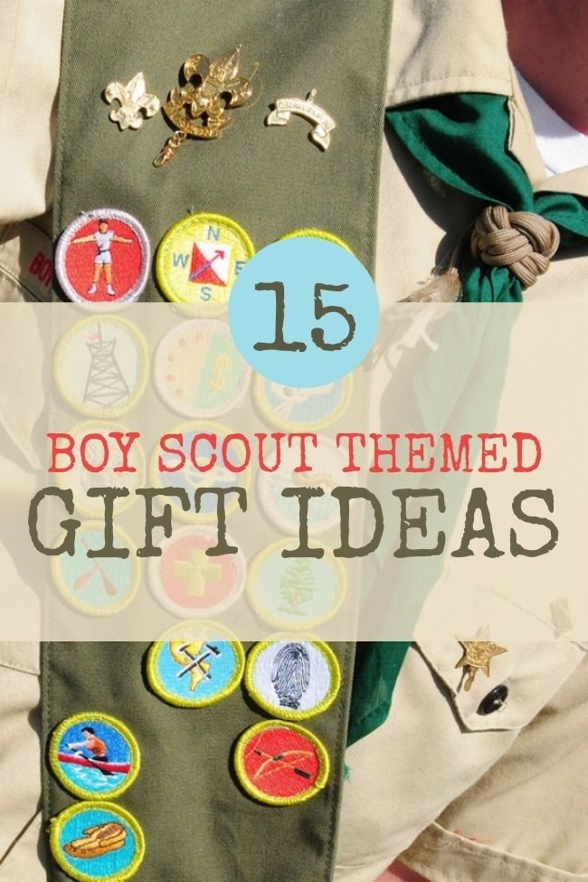 Boy Scout gift ideas www.spaceshipsandlaserbeams.com
