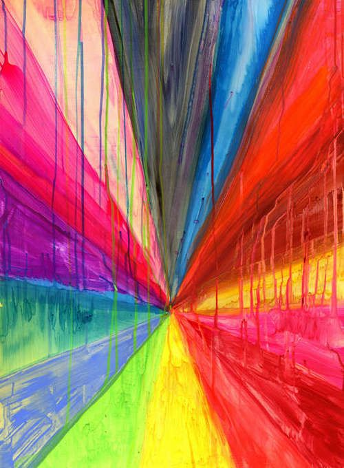Maya Hayuk.Art Express, Artists Mindfulness, Art Decadent, Art Appreciation, Colors Art, Aztec Pattern, Mexican Art, Colors Rainbows, Maya Hayuk