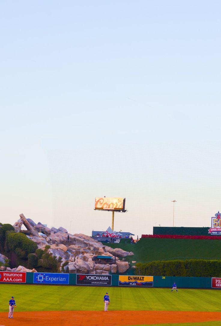 Lexus Diamond Club Angels' Stadium Views + Food