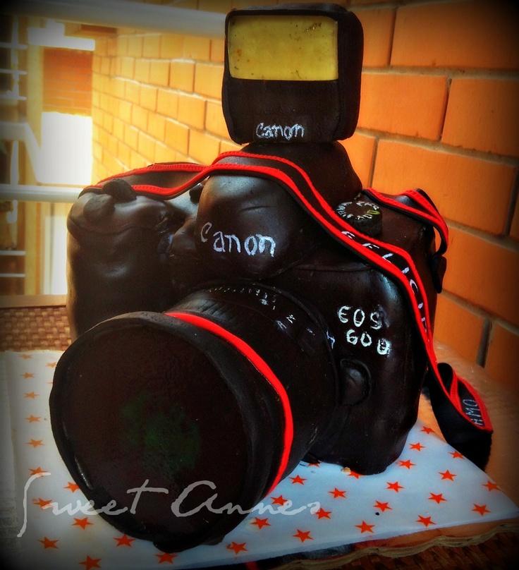 Camera cake. Sculpture cake