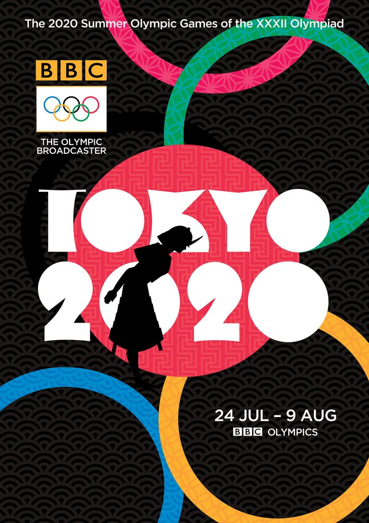 Tokyo Olympics Poster Design by Christopher King 設計