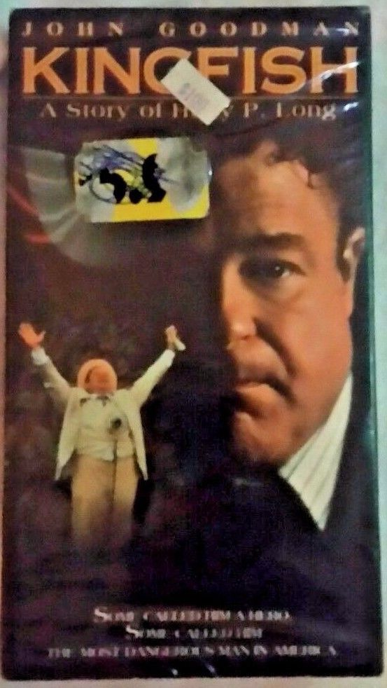 NEW Still In Plastic -  Kingfish: The Story of Huey Long VHS ft. John Goodman
