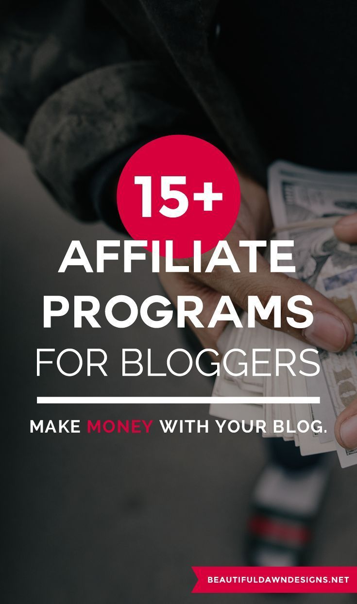 If you want to get paid to blog, joining affilite programs is a great way to make money blogging. #bloggingtips #affiliateprograms #affiliatemarketing