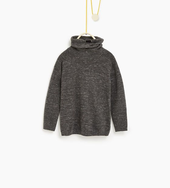 Image 1 of Sweater with elbow patches from Zara