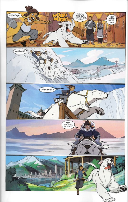 "Legend of Korra - FCBD 2016 - ""Friends for Life"" I figured I'd upload a relatively high quality (read: non-camera) version of these since they're a) free, b) intended to be available on the internet,..."