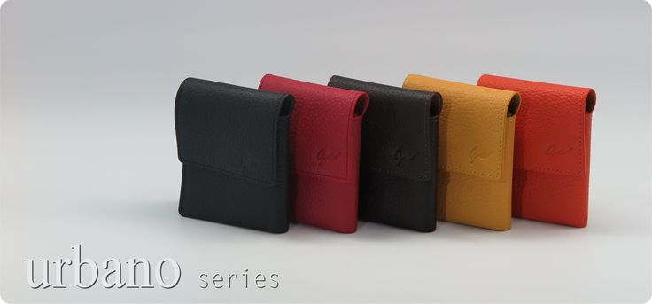 Compact and fashionable wallet with full grain leather.