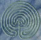 Het Leven zelf is als een Labyrint: telkens als je denkt dat je er bent, neemt het een onverwachte wending. Wanneer je de wendingen ziet als uitdagingen in plaats van beperkingen kun je ook de uitgang vinden. De figuur hiernaast is het Klassieke Labyrint van de Zeven Cirkels. Er zijn hier zeven paden die naar het centrum of het doel leiden. De opvallende overeenkomst tussen het aantal paden/cirkels en de te offeren jongens en meisjes geeft stof genoeg tot nadenken, nietwaar?  De overeenkomst…