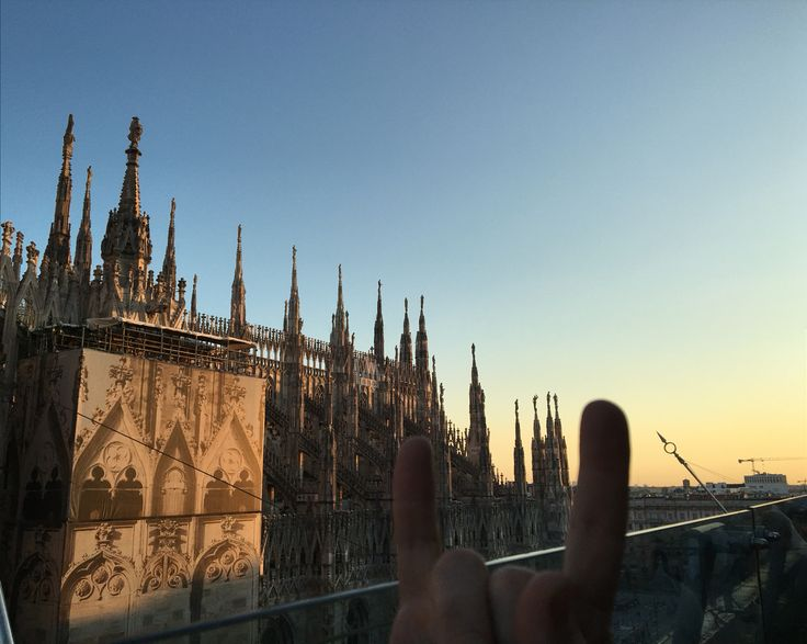 Sunset- Duomo - Milano #milano #duomo #italy #bhangrabar