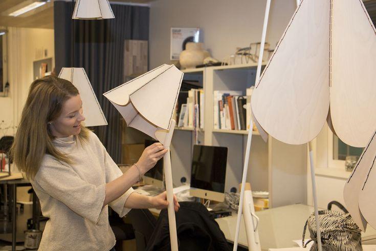 Kaisa Jäntti, two lampshades