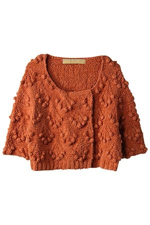 good golly, I love bobbles...this is very pretty and a wonderful color as well.