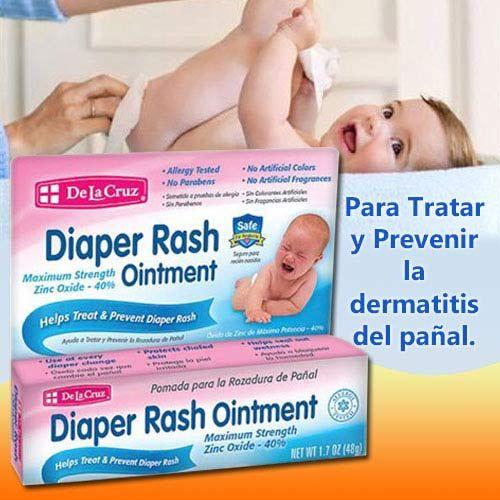 De La Cruz dermatitis por uso del pañal