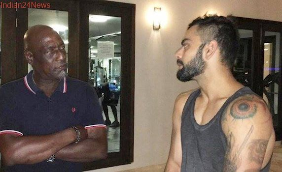 Virat Kohli knows that he is talented enough, says Viv Richards