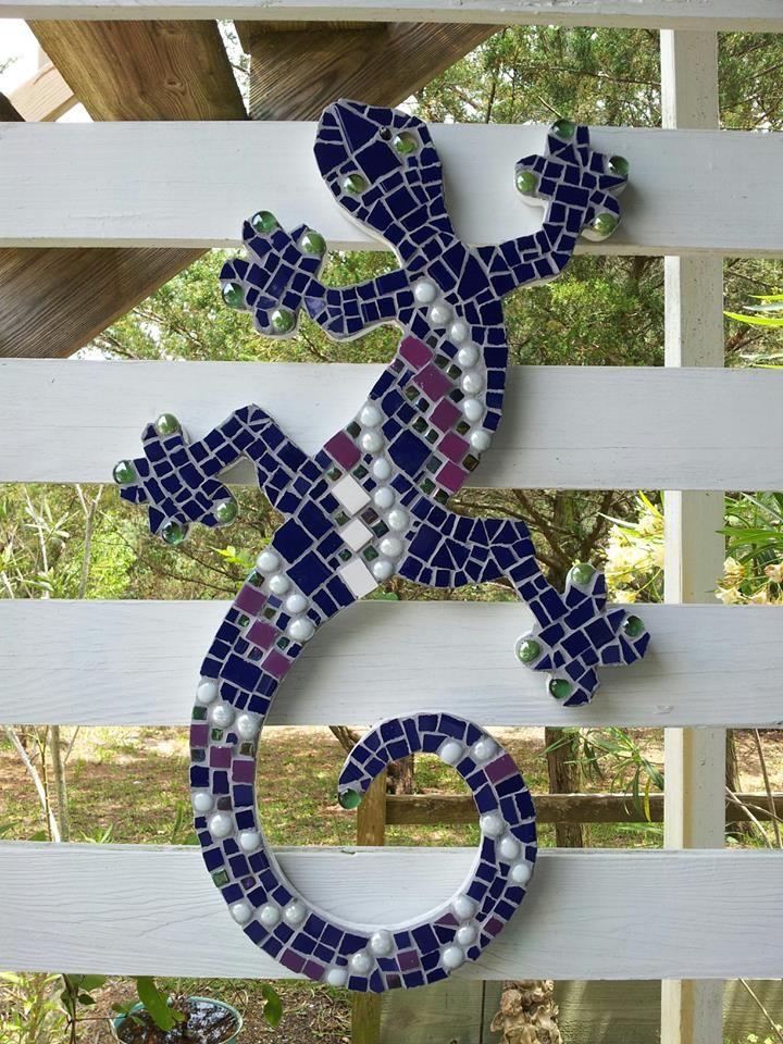 mosaic, lizard #2 ... summer 2013