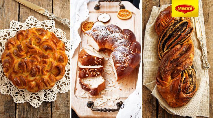 Cake and Bread for Easter // Impletituri pufoase de Paste   Lista retetelor savuroase de Paste nu se termina aici. Afla mai multe pe https://www.maggi.ro/retete