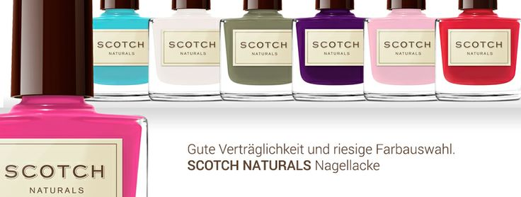 Natürlicher Nagellack von Scotch Naturals http://www.mycoralie.de/