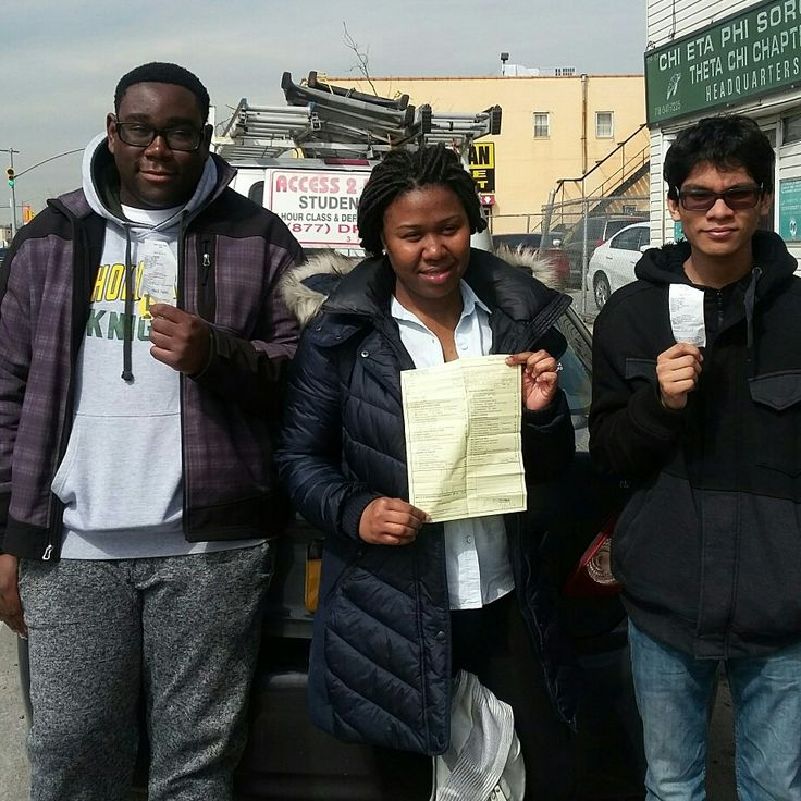3 the easy way😀 Cliffoid, Cameisha, Shcmaul of #jamaica #queens. All took #lesson packages with us. They are now #license #drivers on the road the Access 2 Drive way. #access2drive #drivingschool #welovewhatwedo #teamaccess #learntodrive  www.access2drive.com