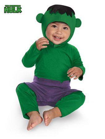Infant Hulk Kutie Child Costume | Wholesale Boys Superhero Halloween Costumes for Infants & Toddlers