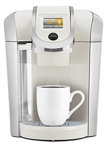 Keurig K475 Single Serve Programmable K- Cup Pod Coffee Maker with 12 oz brew size and temperature control, Sandy Pearl – KITCHEN APPLIANCES