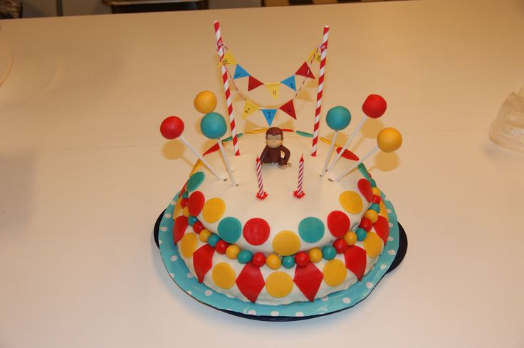 Nicke Nyfiken-tårta, Curious George Cake