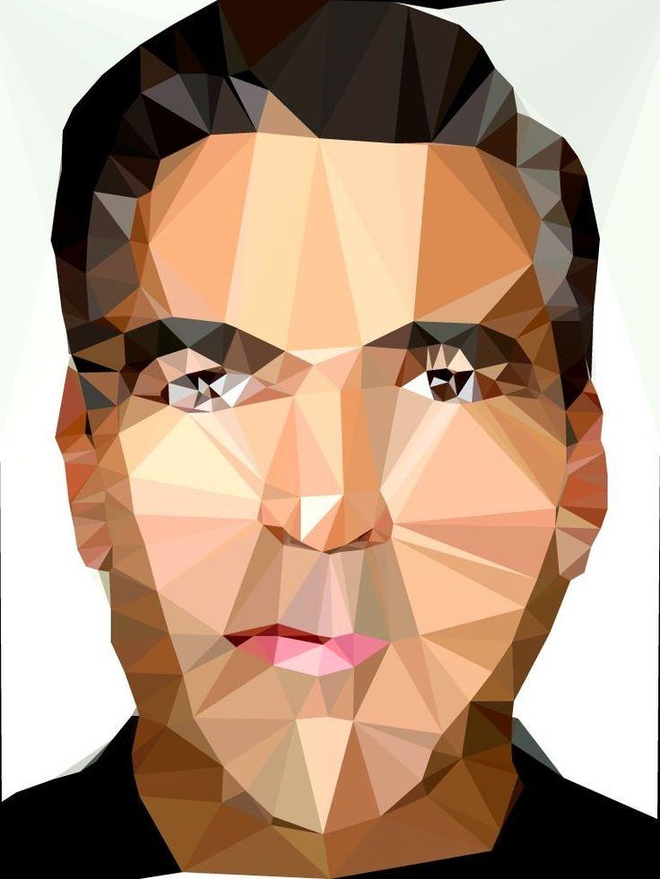 FEEL DESAIN's Poly Project - Cool polygonal portraits