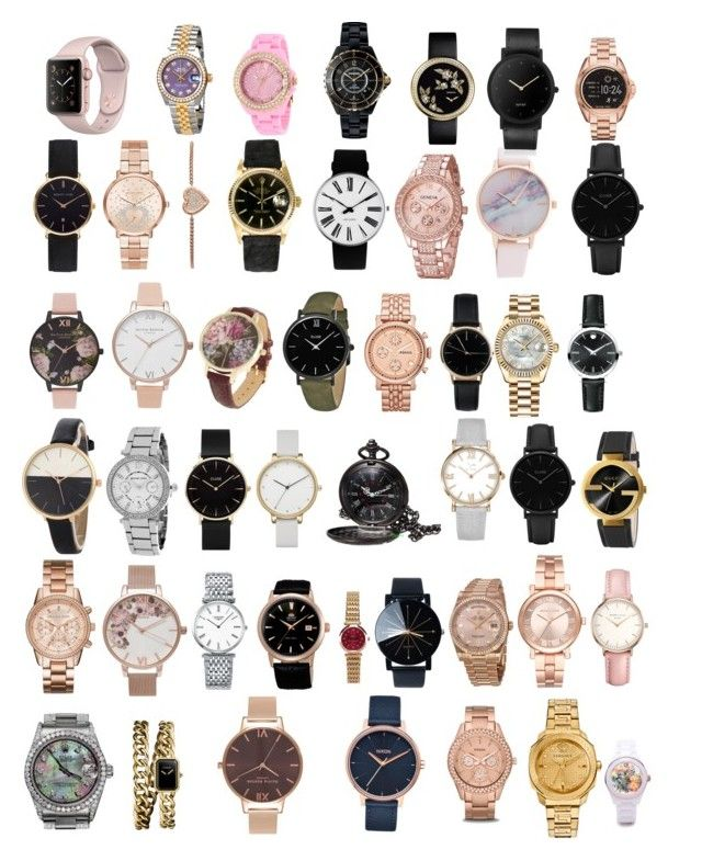 """""""Women's Watches"""" by diyloving on Polyvore featuring Michael Kors, Rolex, Rosendahl, CLUSE, Abbott Lyon, Olivia Burton, FOSSIL, Freedom To Exist, Movado and Skagen"""