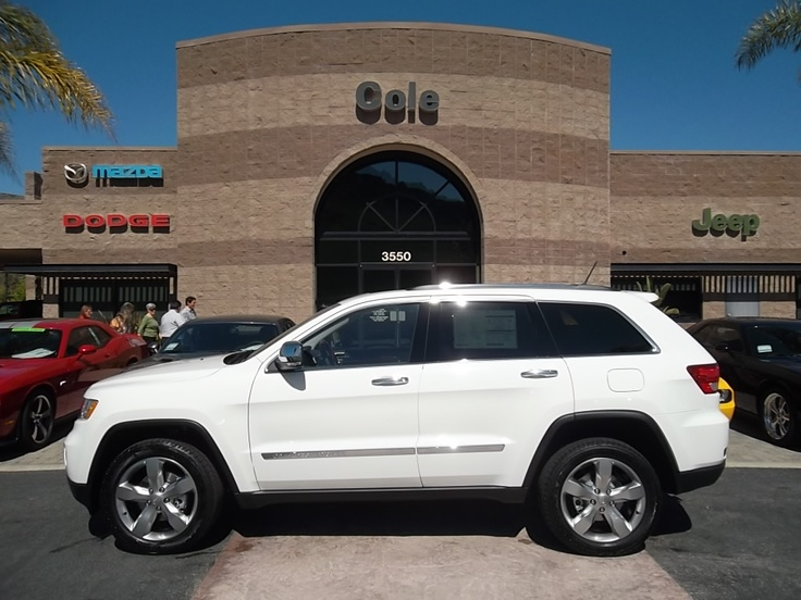2013 Jeep Grand Cherokee Limited White.....love my baby