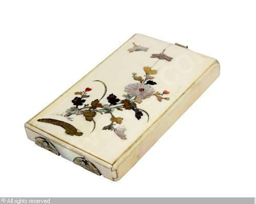 The 330 best calling card cases and calling receiver trays images on meiji period 1868 1912 japan shibayama card case colourmoves