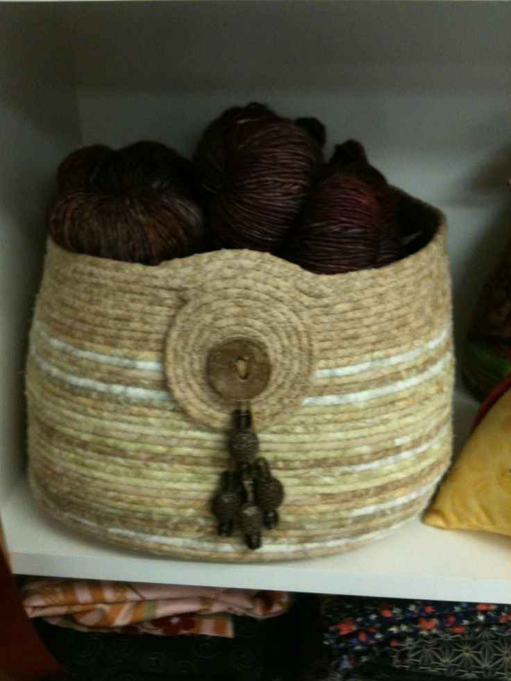 1000 Images About Fabric Coiled Baskets On Pinterest