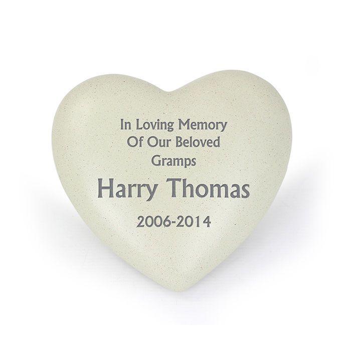 PERSONALISED REMEMBRANCE Memorial Bereavement Grave Vase Ornaments Stones Plaque