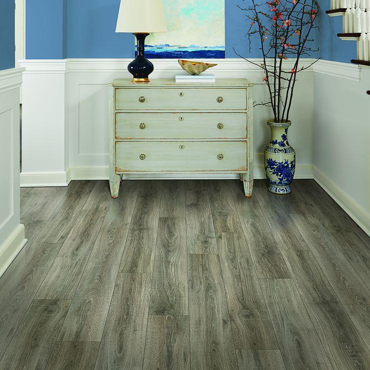 Pergo Max Premier Heathered Oak Wood Planks Laminate Flooring Sample Lwppsc09