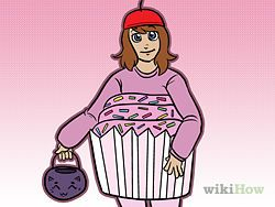 Make a Cupcake Costume - wikiHow