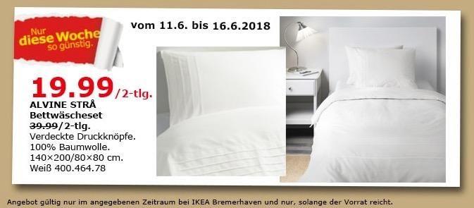 IKEA ALVINE STRA Bettwäscheset 2 tlg | Ikea, Küche und