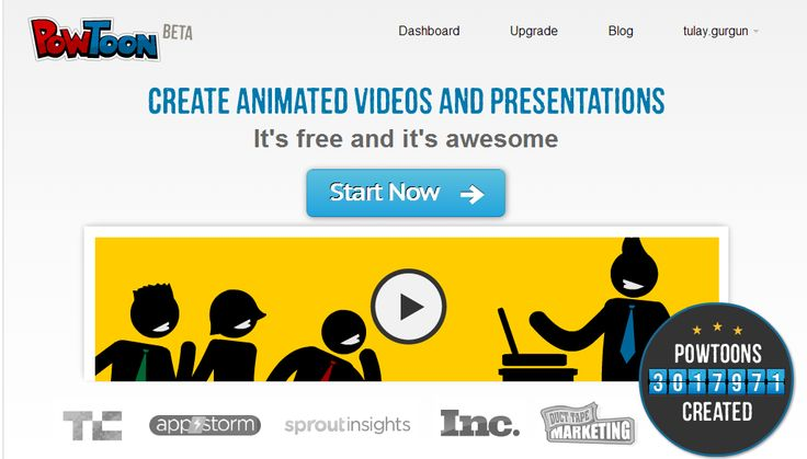 Tülays IKT-sida: Powtoon: Gör animerade filmer