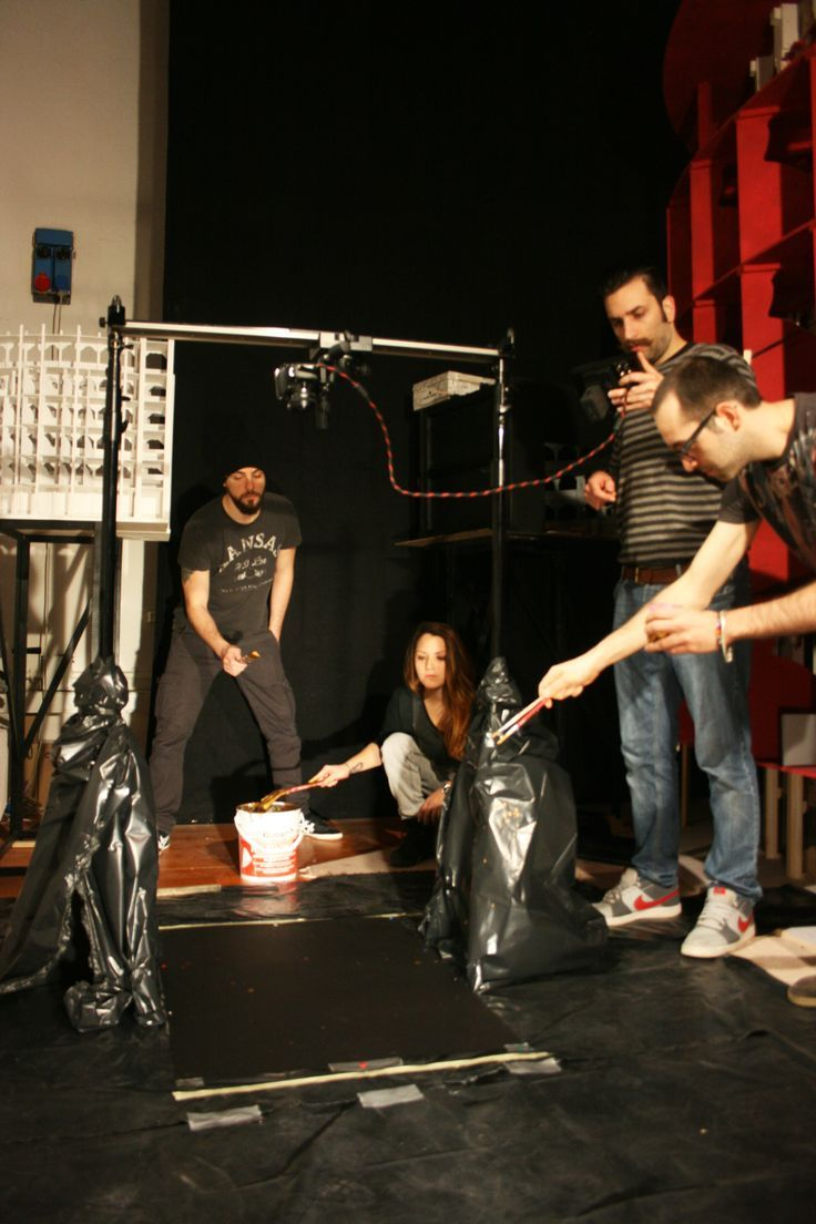 """Making of """"Dripping"""""""