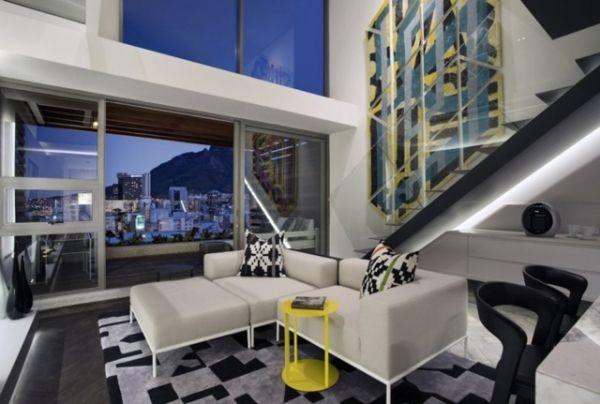 Modern Bir Apartman Dairesi Dekorasyonu