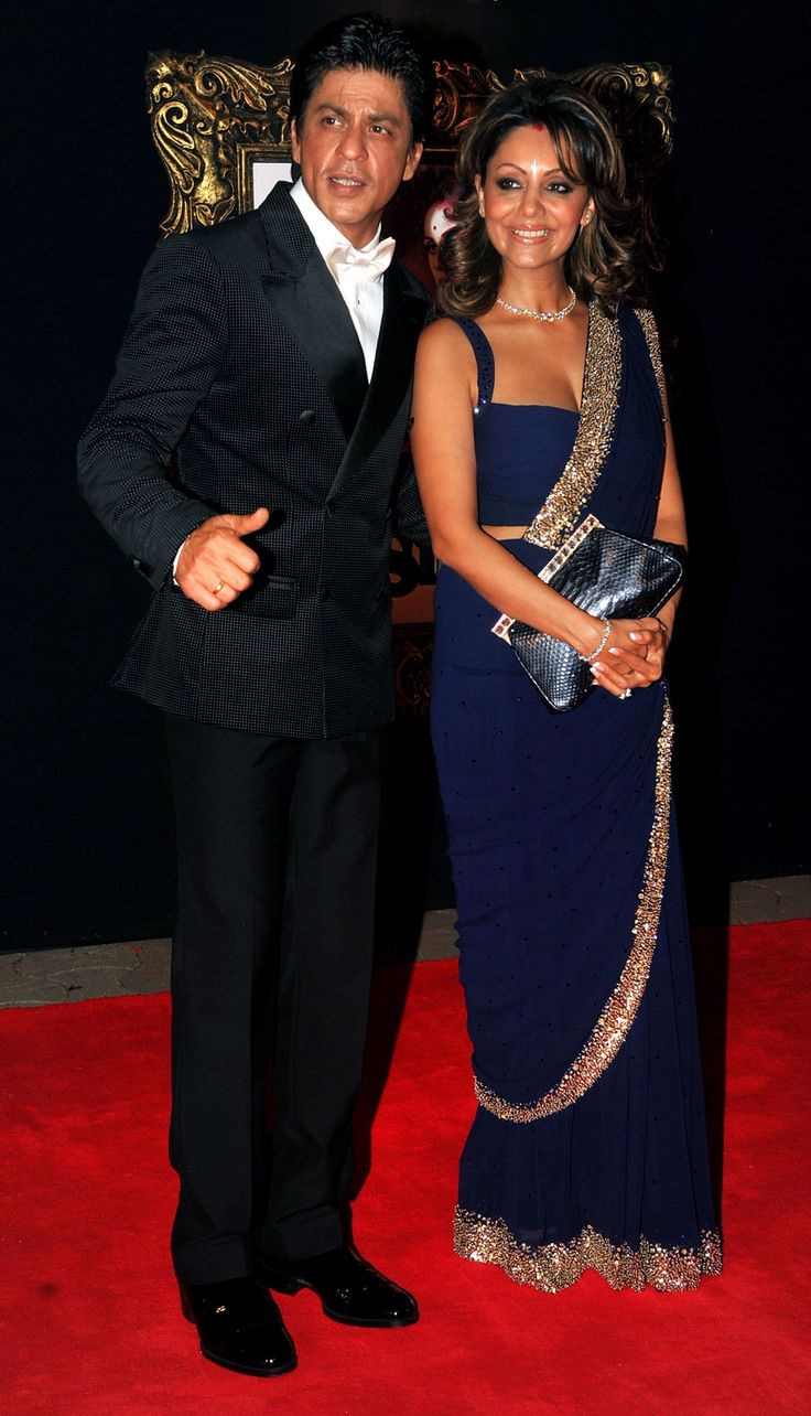 Shah Rukh Khan with wife Gauri Khan, see more photo stories here