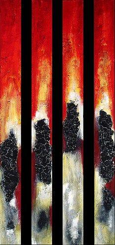 "artoffer – Art of Edelgard Sprengel   ""Säulen der Erde"" / 2010 Pillars of the earth"