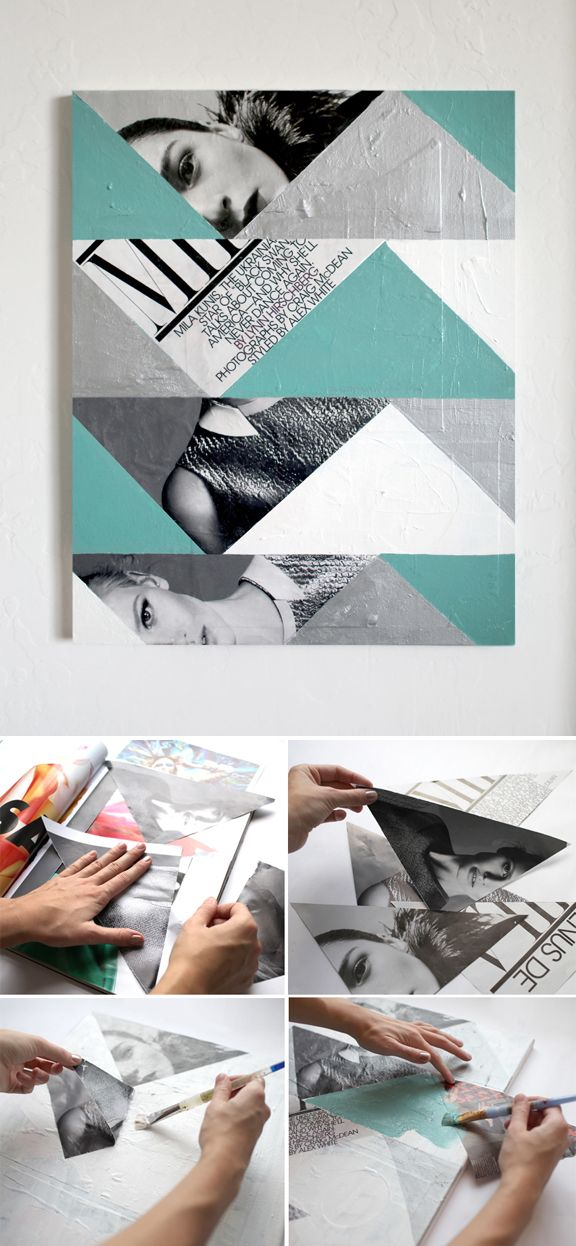 Moyen facile de créer un tableau original!