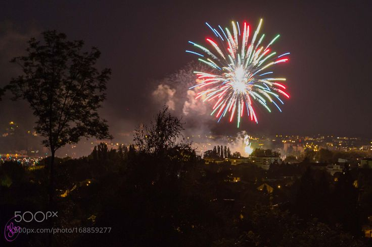 Fireworks (Feu D'Artifice) Annecy by RARD