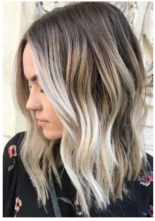 20 Neueste Wellig Bob Frisuren 2020 Haarfarben Ideen Haarfarben Haarfarbe Balayage