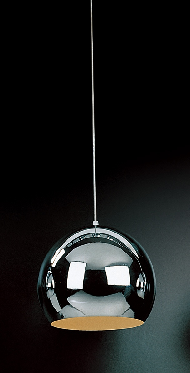 Lampe suspension cuisine nordique blanc boule de verre for Suspension led cuisine design
