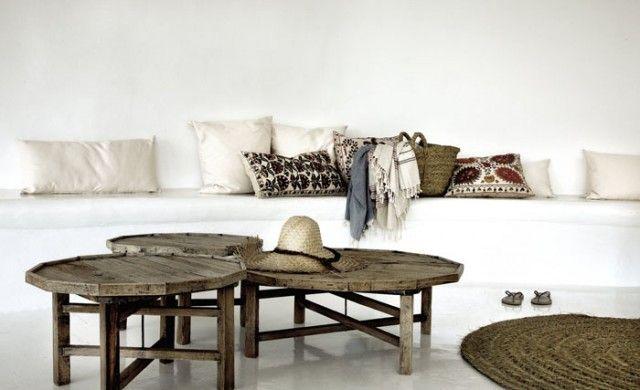 El estilo ibicenco también en decoración del hogar | Mimub | Blog
