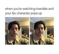 My face every time I see Betty and Jughead together.