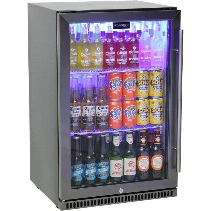 Schmick 118l Outdoor Alfresco Bar Fridge Sk118l Bs Bar Fridges Beer Fridge Outdoor Fridge