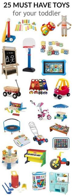 25 Must Have Toys for Your Toddler | Toddler Toy Ideas | Toddler Gift Ideas || Katie Did What