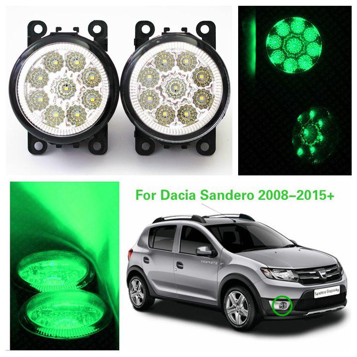 $28.28 (Buy here: https://alitems.com/g/1e8d114494ebda23ff8b16525dc3e8/?i=5&ulp=https%3A%2F%2Fwww.aliexpress.com%2Fitem%2FFor-Dacia-Sandero-2008-2015-Car-styling-LED-Highlighting-the-front-bumper-fog-lamps-drl-greed%2F32699693093.html ) 2016 New For Dacia Sandero 2008-2015+ Car Styling Led Highlighting The Front Bumper Fog Lamps Drl Greed Car-covers H11 12v 4.5w  for just $28.28